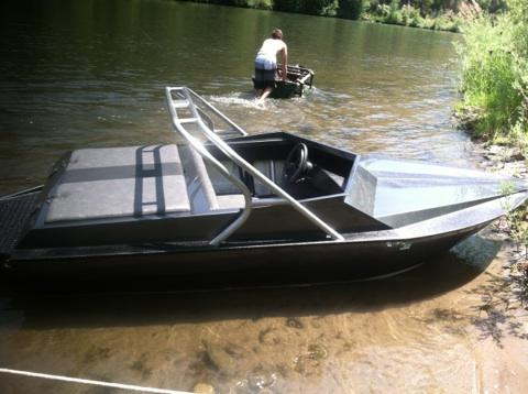 OUTLAW EAGLE MANUFACTURING :: View topic - 12' Mini Jet Boat