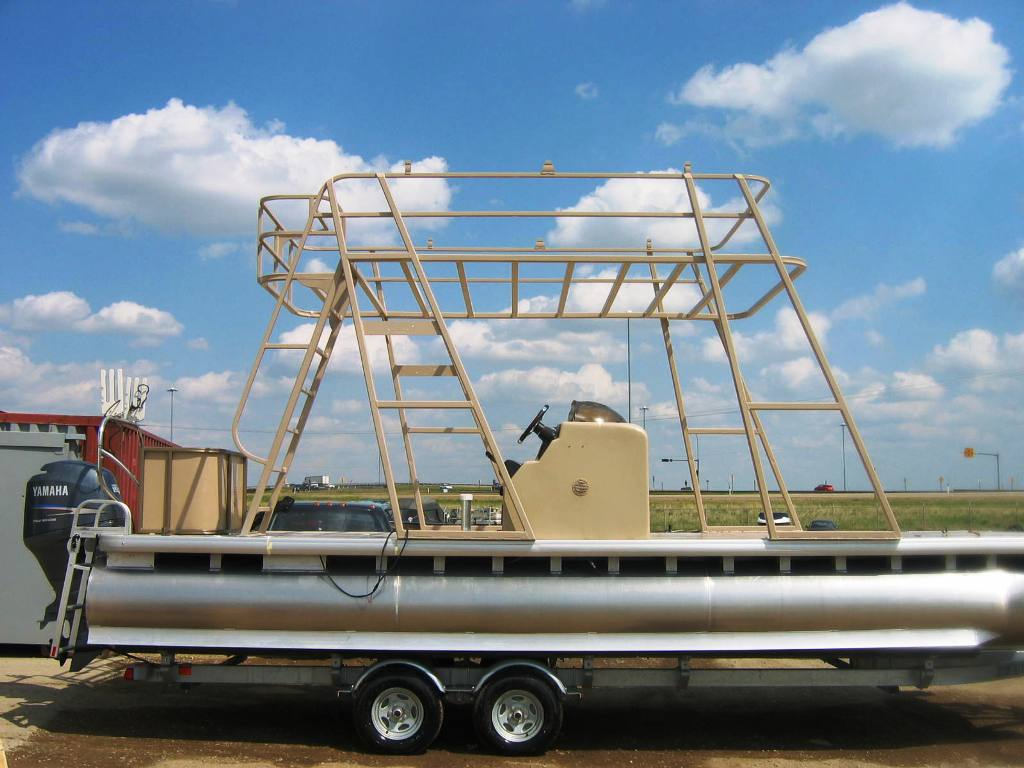 Pontoon Boat Pontoon Boat Upper Deck Kit