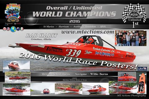 2016 World Jet Boat Champion
